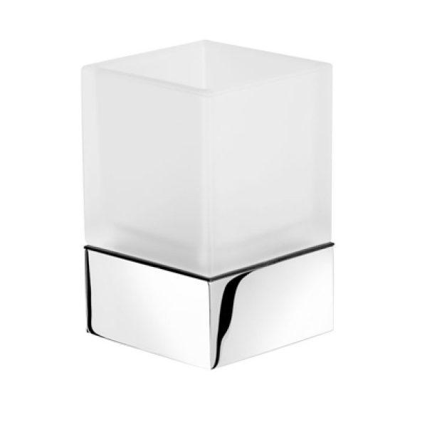 Geesa Modern Art Glashouder chroom