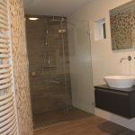 Badkamer met sauna in Vlijmen