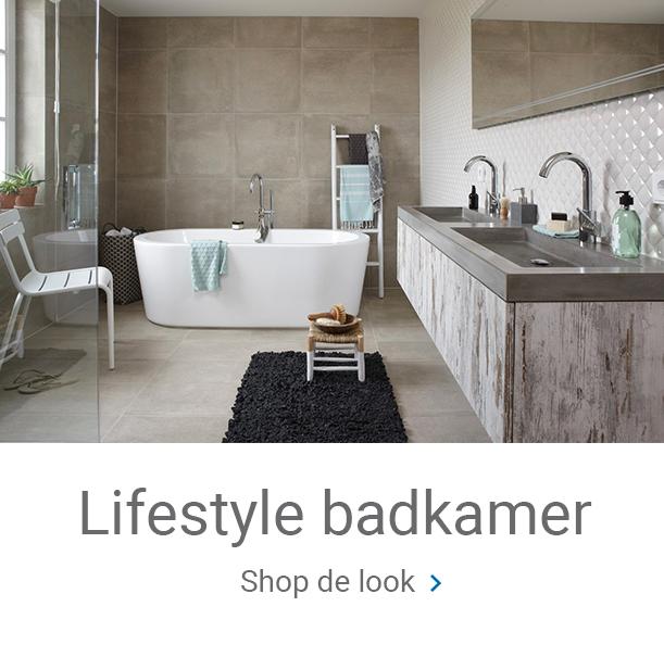 Overzicht lifestyle badkamer shop de look