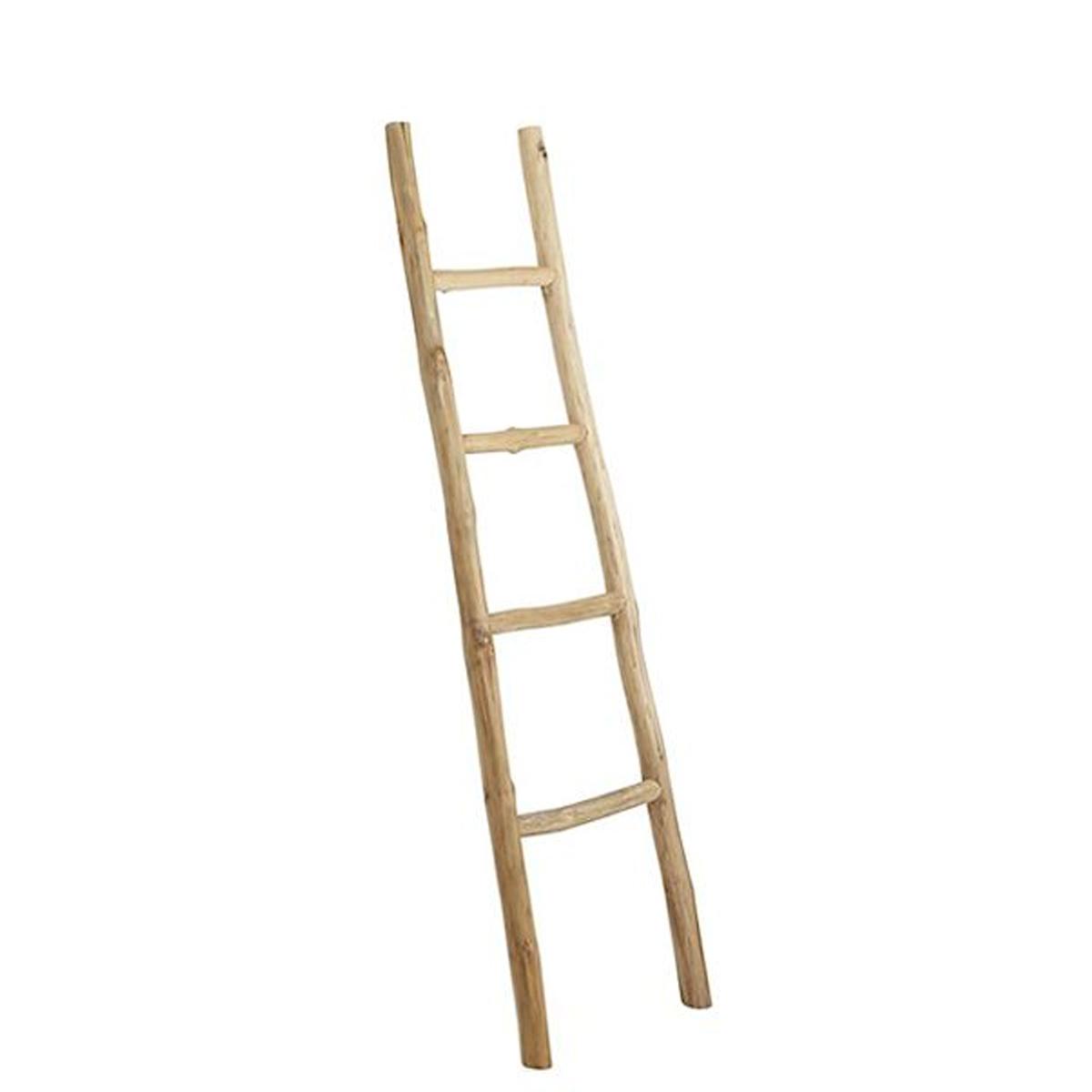 Ladder Nature teak - Badkamer ID Vught
