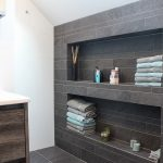 Moderne badkamer hoekwoning rosmalen