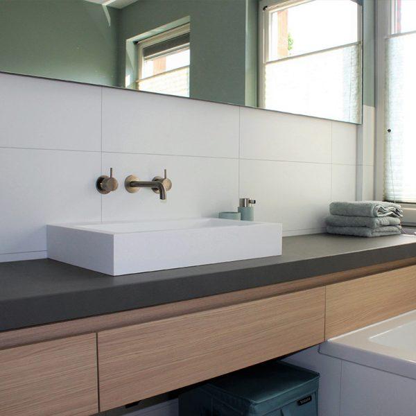 Trendy familiebadkamer – Den Bosch